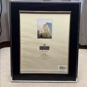 Burns of Boston 8x10 Black and silver frame
